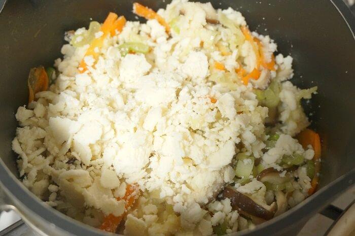 おからのしっとり煮の作り方。