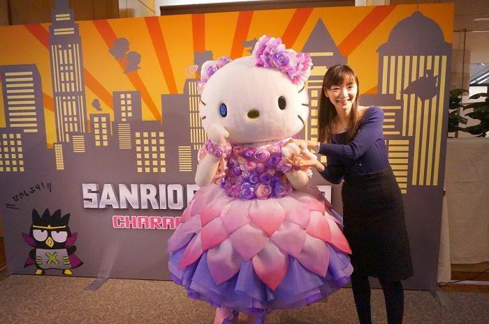 サンリオエキスポで出会った今年のキティちゃんもめちゃめちゃキュート!