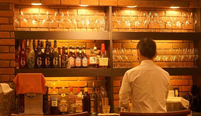 秋田のお酒も充実。