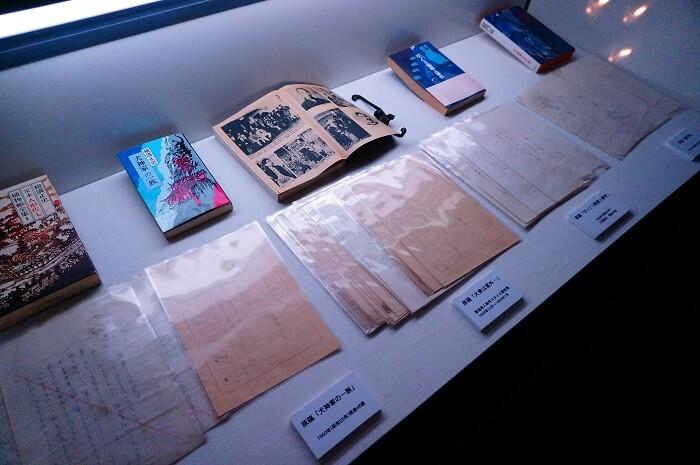 横溝正史ファン必見!愛用品や生原稿、ポスターなどの展示も。