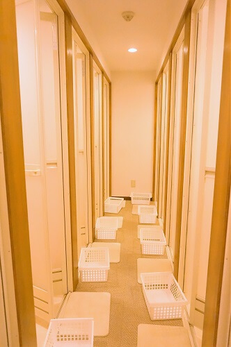 シャワールームの数も多く、女性専用なので、安心感も高かった!@ララアーシャ池袋の口コミ