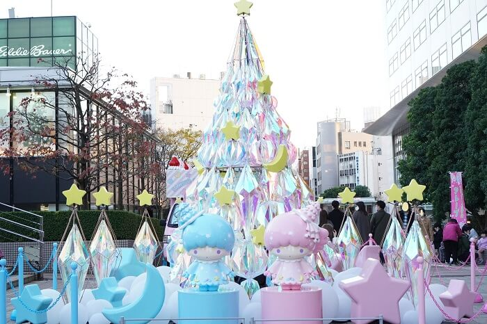 LittleTwinStars×新宿サザンテラス  TWINKLE COLOR CHRISTMAS